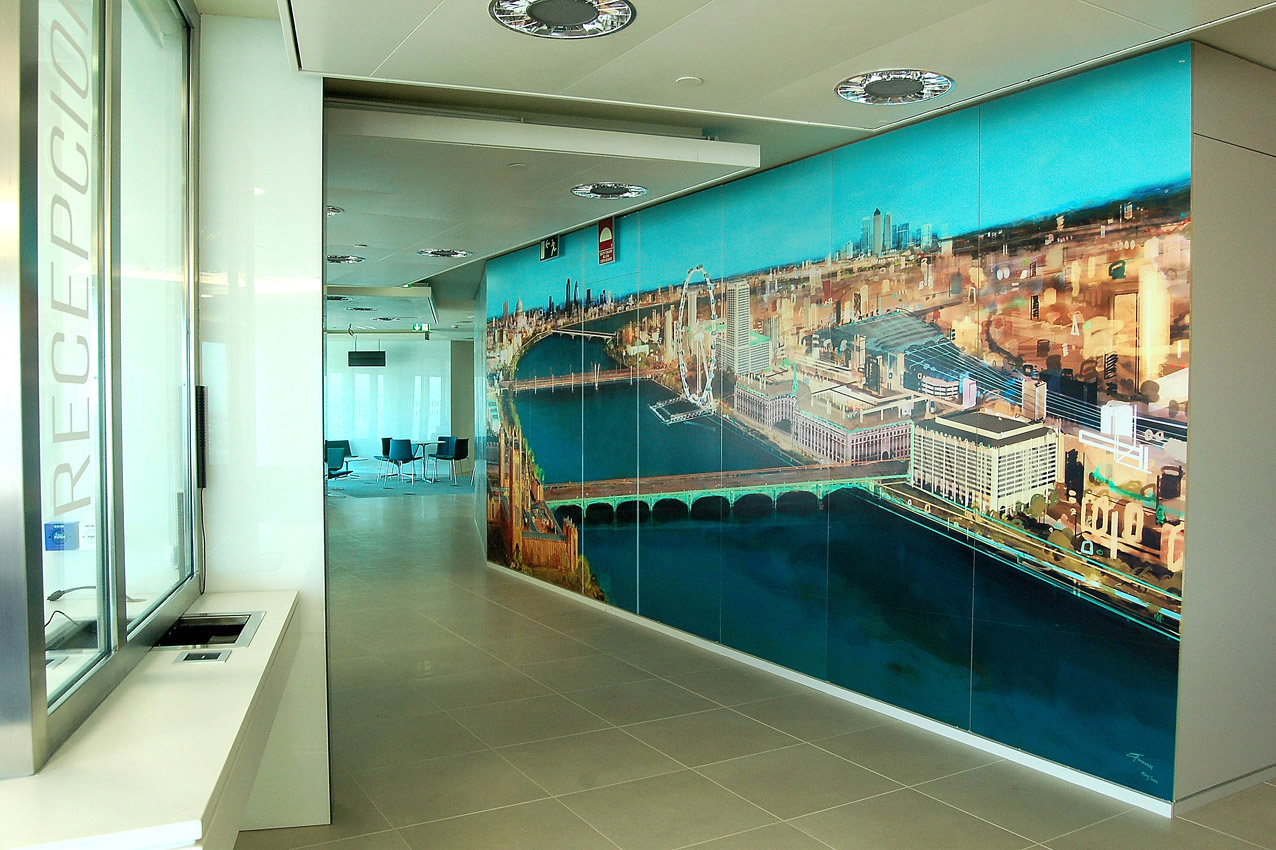 British Embassy, Madrid - Corporate Art Collection by Workplace Art