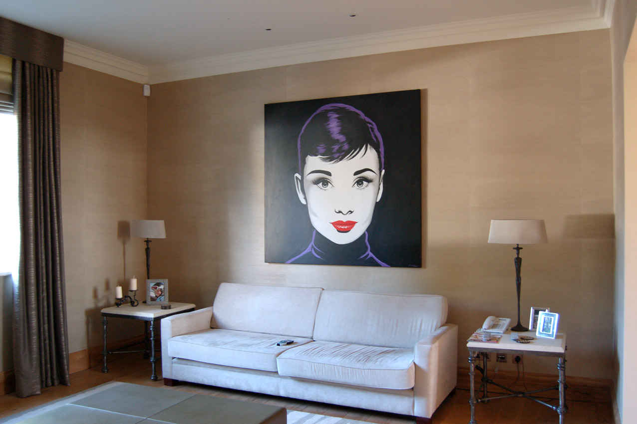 Private Client, Surrey - Residential Art Collection by Workplace Art