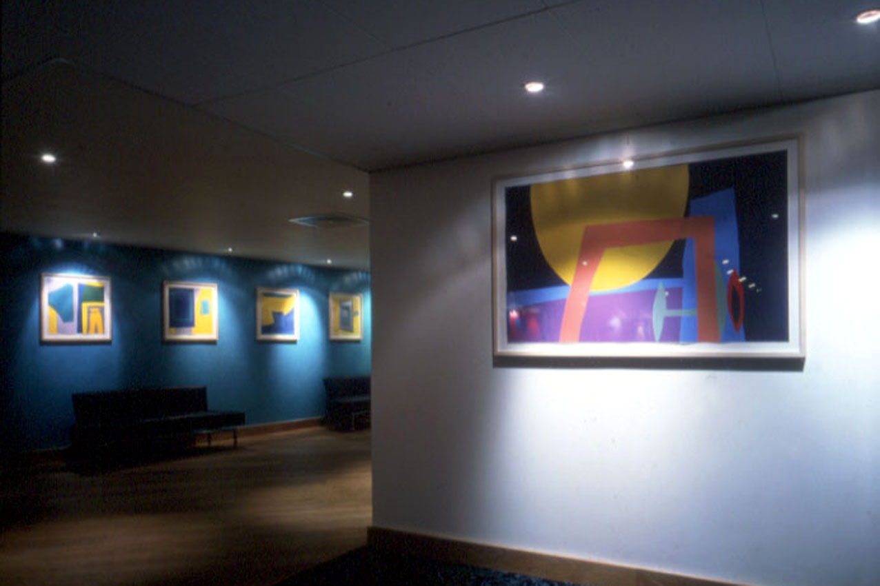 Harbour Club, London - Hospitality Art Collection by Workplace Art