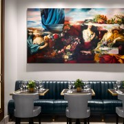 Pavilion Restaurant, London - Hospitality Art Collection by Workplace Art
